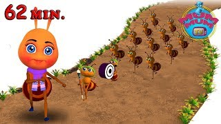 The Ants Go Marching One By One Song | Best Nursery Rhymes Songs for Kids, Children | Mum Mum TV