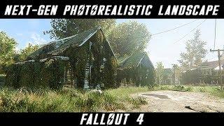 NEXT-GEN MODS - PHOTOREALISTIC LANDSCAPE | Fallout 4 - Ultra ENB Graphics | Nvidia GTX 1080