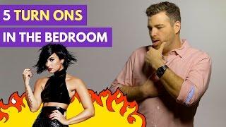 5 Biggest Turn Ons For Men In the Bedroom | Adam LoDolce