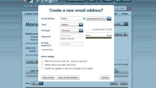 How to create a new mailbox | 123-reg