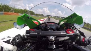 Riding with Tom Sykes. Kawasaki Ninja ZX 10R 2016 On Board Sepang.