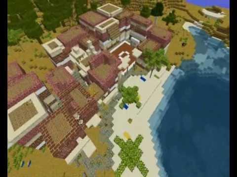 Favela de Rio de Janeiro in Minecraft