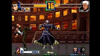 The King of Fighters 2001 Plus (Set 2, bootleg / Hack) - Level 8 - (1cc)