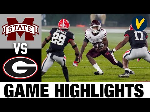 Mississippi State vs 13 Georgia Highlights Week 12 2020 College Football Highlights