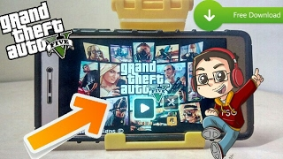 HOW TO DOWNLOAD GTA V ON ANDROID LITE (90 MB) + GAMEPLAY