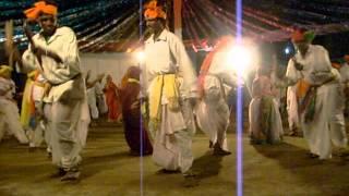 dhandari gussadi tribal gond adivasi dance - utnoor mandal, adilabad dist