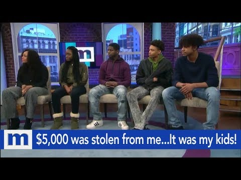 Xxx Mp4 5 000 Was Stolen From Me The Suspects Are My Teenage Children The Maury Show 3gp Sex