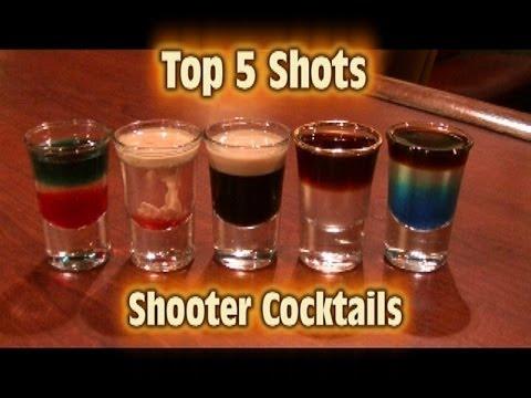 Xxx Mp4 Top 5 Shot Drinks Shooter Cocktails Top Five 3gp Sex