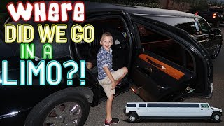 KIDS REACT TO RIDING IN A LIMO!!     Mommy Monday