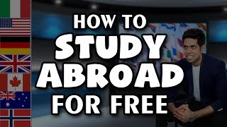 How to Study Abroad for Free | Indian Students विदेश में कैसे पढ़ें | by Him eesh