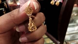 Gold এর হাল্কা ওজনের রিং, জুমকা কানের দুল/Gold jewelry /22 k.D.m Gold ear ring collection.