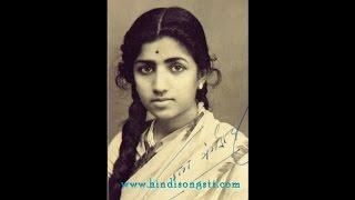 LATA JI & GUL RAJA-Film-GAUNA-[1950]~Naina Karke Char Balam- [ H Q 78 RPM Sound ]