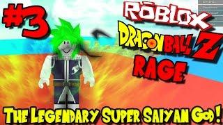 THE LEGENDARY SUPER SAIYAN GOD! | Roblox: Dragon Ball Z RAGE - Episode 3