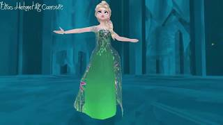 Elsa transforms to Fever Elsa