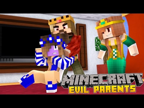 Minecraft-Little Carly-MY PARENTS TURN EVIL!!