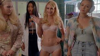 Emma Roberts | Scream Queens Hottest Scenes [1080p]