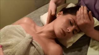 Real ASMR Massage tutorial #1 Shoulder & Neck
