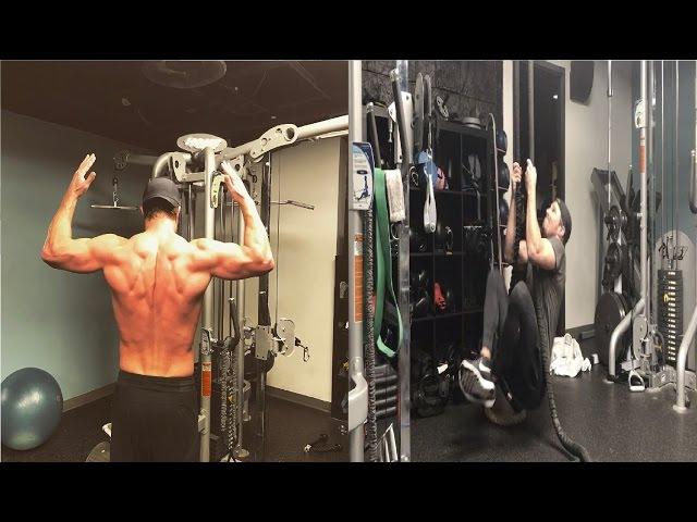 Stephen Amell training 2017 American Ninja Warrior & Arrow season 5