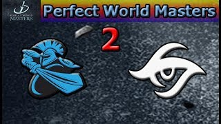 Newbee vs Secret Game 2 | Group Stage Day 2 | Perfect World Masters