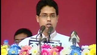 S M Jakir Hossain, General Secretary, Speech at reunion of Bangladesh Student's League
