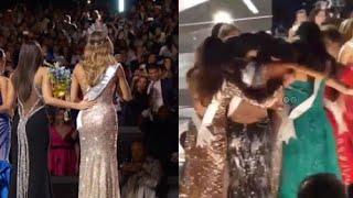Paulina Vega y las Candidatas del Miss Universo 2015 Apoyaron a Ariadna Gutierrez por el ''ERROR''