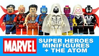 Marvel Super Heroes w/ DC Comics The Atom & Spawn LEGO KnockOff Minifigures Set 26