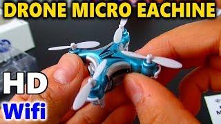 "DRONE - EACHINE E10W Mini Wifi mit Hd - Drohne 720p "" Amazon "" Spielzeug Review Deutsch"