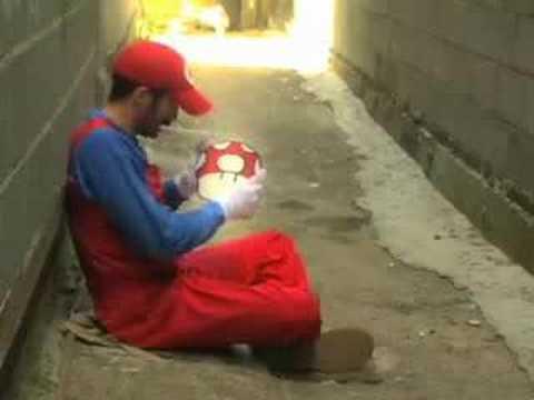 super Mario Game over español