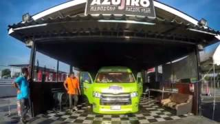 รถตู้ซิ่งวิ่งงานstreet drag thailand  ตอน van thailand record