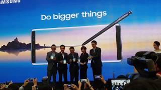 Song Ji Hyo di Pelancaran Samsung Galaxy Note8