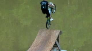Dakota Neice Of Franklin County, VA Bike, Dock, Ramp, Pond, & Splash