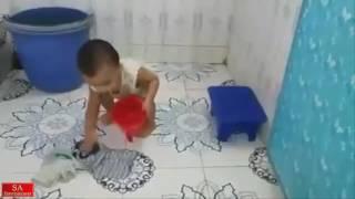 New Bangla Funny Video  |  Cute Baby Er Paglami | SA Entertainment