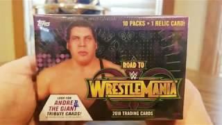 "(EPISODE 1,841) AMAZON UNBOXING: WWE ROAD TO WRESTLEMANIA 2018 TOPPS ""BLASTER BOX"" MOJO @Topps"