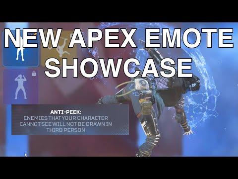 New Emotes Showcase Apex Legends Season 9 Legacy Every Legend