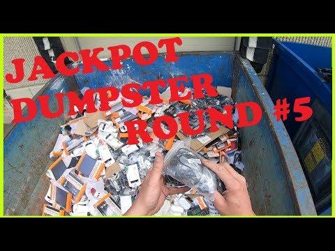 DUMPSTER DIVING 59 JACKPOT DUMPSTER ROUND 5