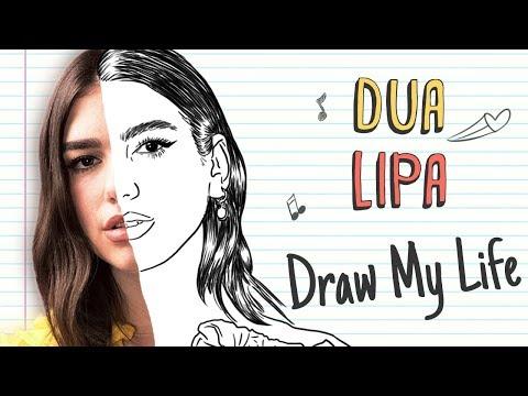 DUA LIPA | Draw My Life