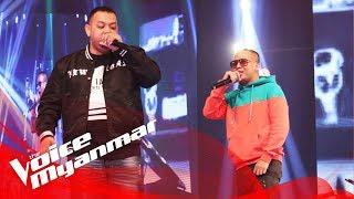 "J-Me & Yan Yan Chan: ""The Anthem / ျမဴးႂကြေနတယ္"" - Live Final - The Voice Myanmar 2018"