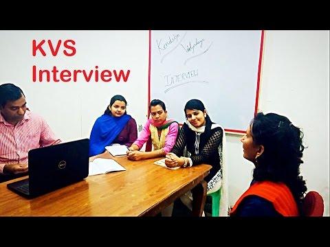 kvs interview video