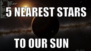 5 NEAREST STARS TO THE SUN - Space Engine
