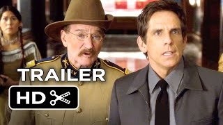 EXCLUSIVE - Night at the Museum: Secret of the Tomb Official Trailer #2 (2014) - Robin Williams HD