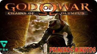 Primeros minutos | god Of war chains of olympus | Cap 1