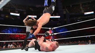 WWE Marquee Matches: AJ Styles does not give up against The Beast (WWE Network Exclusive)