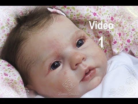Cuidados com o Cabelinho do Seu Bebê Reborn vídeo 1 Larissa Versolato