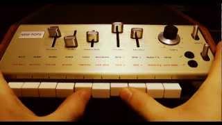 Korg Minipops 7 Original Jean Michel Jarre Drum Machine
