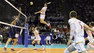TOP 10  Attack in 3rd meter   3rd meter spike   Volleyball Highlights   FIVB - World League 2017