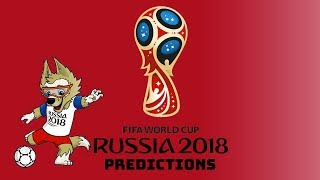FIFA World Cup 2018 Russia Predictions (Old Predictions - New One Out)