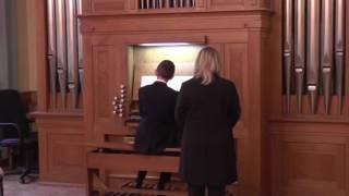 J.S. Bach  -  Sonata triowa d-moll, cz.I  BWV 527