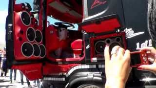 Misano 2013 Scania Absolute Acconcia (impianto stereo) HD