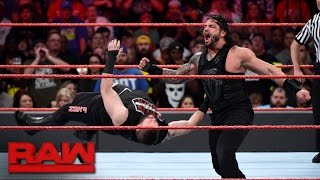 Roman Reigns vs. Kevin Owens: Raw, Nov. 28, 2016