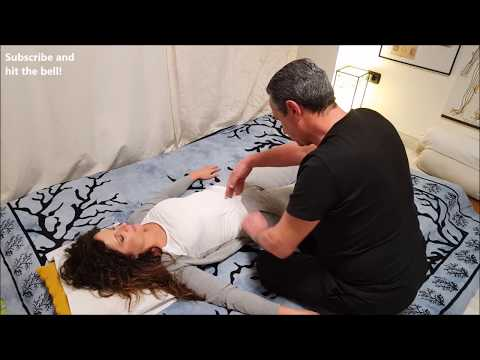 Xxx Mp4 💆 Shiatsu Shamanic Full Body Massage On Eliana ASMR No Talking 3gp Sex